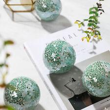 """5PCS Home Decor 3"""" Accent Glass Decorative Balls Accessory Set Mosaic Sphere"""