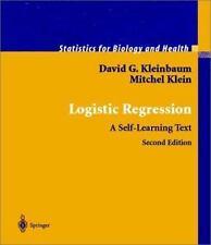 Logistic Regression: A Self-Learning Text, David G. Kleinbaum, Mitchel Klein, Ne