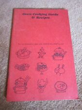 Harper Oven Cooking Guide Instructions Recipes All-Temp Control 1960s Booklet