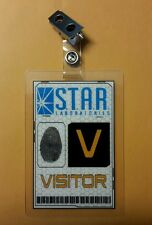 Flash/Arrow ID Badge - S.T.A.R. Labs Visitor  cosplay Prop costume