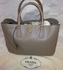 PRADA : Women's Argilla Saffiano Leather Lux Medium Handbags