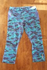 Reebok Women's Capris With Mesh Size Small