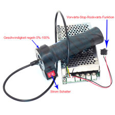 Hand Twist Griff Gaspedal 10-50V 5000W / 80a 100a 12V DC Drehzahl Regler Motor