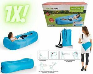 RELAXmaxx Luft-Couch Liegesack Sitzsack Lounge Couch Sessel aufblasbar NEU✔ /A06