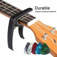 Aluminum Quick Change Clamp Key Capo For Acoustic Electric Classic Guitar GY