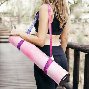 1PC Yoga Mat Strap Stretch Adjustable Yoga Mat Carrier Shoulder Strap Yoga B Jw