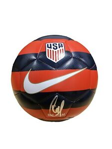 Christian Pulisic Signed Official USA NIKE United States Soccer Ball JSA