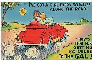 comic postcard: Mileage