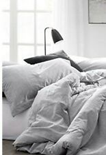 Byourbed Natural Loft King Pillow Shams | Yarn Dyed Gray | New With Tags