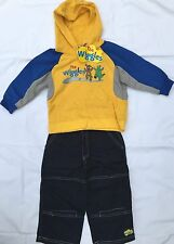 ~ Wiggles - Wags Dorothy Genuine Hood Jumper Top Cotton Pants Set Outfit New s1