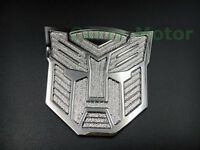 3D Car Transformer Autobot Logo Decal Metal Auto Emblem Badge Decoration Sticker