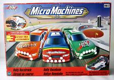 RARE 2000 MICRO MACHINES RALLY RACETRACK PLAYSET + 3 CARS HASBRO NEW SEALED !