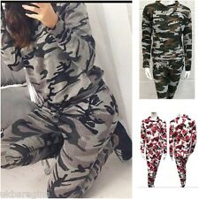 Camouflage Fitness & Yoga Full Tracksuits for Women