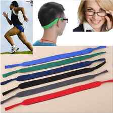 Sport Flexible Eye Glasses Strap Neck Cord String Sunglasses Rope Band Holder IL