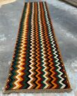 Authentic Hand Knotted Afghan Nokaar Balouch Wool Area Runner 10 x 2 Ft