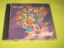 Cactus Rain In Our Own Time 1991 CD Album Downtempo Synth