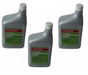 3 Quarts Genuine for Honda MTF Manual Transmission Fluid Acura 087989031