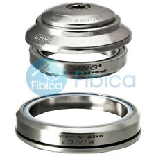 New Chris King Dropset 2 integrated Tapered Headset 42mm 52mm Silver