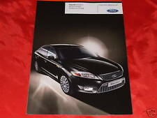 "FORD Mondeo ""Black Magic"" Sondermodell Prospekt + Preisliste von 2009"