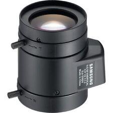 SAMSUNG SLA-550DV 1/3'' 5-50MM CCTV CAMERA LENS CS-MOUNT AUTO IRIS DC DRIVE 410K