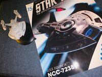 Star Trek Voyager USS Equinox NCC-72381 Ship & Magazine #15 Eaglemoss