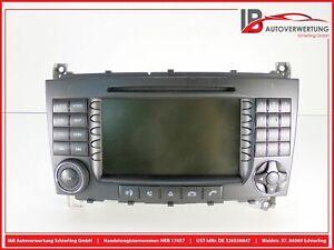MERCEDES BENZ C-KLASSE W203 Navigationssystem CD-Radio A2038708689 A2038270062