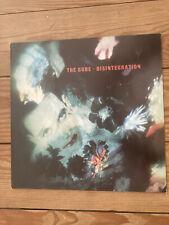 The Cure LP Disintegration FIXH 14 Fiction Records 839351-1 Vinyl 1989 Original
