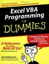 Excel VBA Programming For Dummies-John Walkenbach