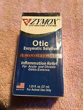 ZYMOX Otic Pet Ear Infection Treatment Hydrocortisone 1.25oz Enzymatic