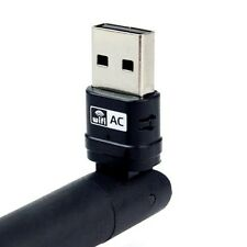 Dual band 600 Mbps USB WiFi Dongle sans fil Adaptateur LAN 802.11ac/a/b/g/n 5/2.4Ghz