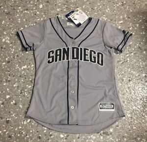 San Diego Padres Majestic Replica Jersey Women's 2XL New With Tags