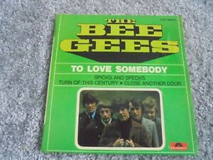 The Bee Gees - To Love Somebody 1967 FRANCE EP POLYDOR