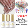 4Pcs/set BORN PRETTY Opal Jelly Soak Off UV Gel Nail Polish Butterfly Nail Foils