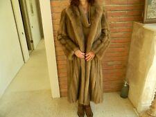 "Blond Russian Sable Coat Jacket ""Louis Feraud"""