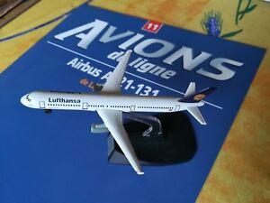 1/460 AVION AIRBUS A 321-131 LUFTHANSA RBA FABBRI AVIONS DE LIGNE AVEC FASCICULE