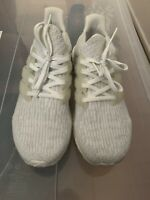Adidas Ultra Boost 3.0 Triple White Men's US SZ 10 BA8841 Pre-Owned