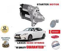 FOR LEXUS IS300 HYBRID 2013-> NEW STARTER MOTOR OE 28100-31071