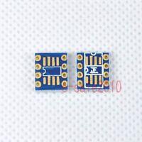2pcs Dual SOIC8 SOP8 to DIP8 Adapter Converter PCB Board Mono Opamp OPA627 ,P09