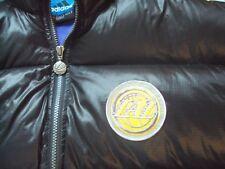 LA LOS ANGELES LAKERS TEAM adidas NBA BLACK PUFFER FLUFF QUILETED JACKET COAT