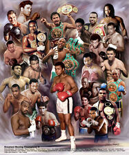 Great Boxing Champions II by Wishum Gregory (11x8.5 inches - Unframed Art Print)