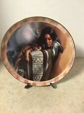 "Sacred Bond Collection "" Sofest Caress"" Bradford Exchange Decorator Plate #3"