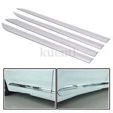 4x Car Door ABS Chrome Body Side Moulding Cover Trim For Toyota Sienna 2011-2016