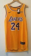 Kobe Bryant #8 Lakers NEW Gold Swingman Jersey - Nike Size XL (52)