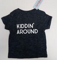 Toddler Kids Short Sleeve Graphic T-Shirt - Cat & Jack - Black -12 M - Kiddin