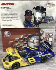 Martin Truex Jr 1:24 Diecast Action #8 Wrangler Retro Raced Version 2004 NEW