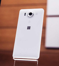 New Unlocked Microsoft Lumia 950 32GB 4G LTE Windows 10 20MP Smartphone White