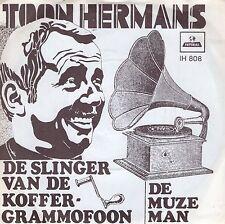 7inch TOON HERMANS de slinger van de kofffergrammofoon HOLLAND 60'S EX