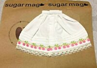 Sugar Mag Cherry flower embroidery Skirt fit blythe Riley Betsy Licca 1/6 Azone