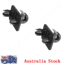 4x Black Sun Visor Clip Holder Hook Bracket For Audi A1 A3 A4 Q3 Q5 8u0857562a