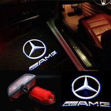AMG LOGO LED PUDDLE PROJECTOR GHOST DOOR LIGHTS FOR Mercedes Benz S-Class 2014+
